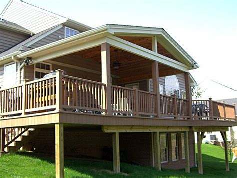 covered decks screened porches decked   don