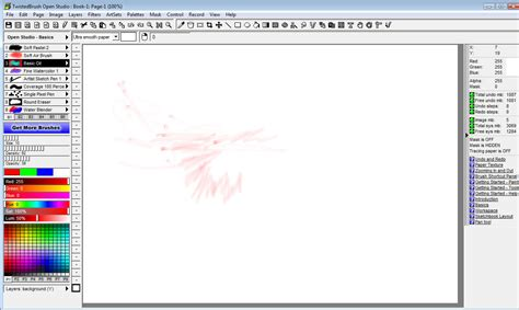 paint software twistedbrush open studio free paint program makes an