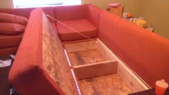 How To Build Sectional Sofa Diy Storage Sectional Free Plans Also From White Also Intended For Use As Guest Bed