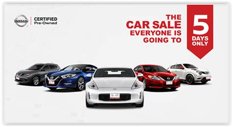 nissan certified pre owned dubai nissan certified pre owned 5 day sale dubaisavers