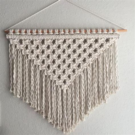 Unique Macrame Patterns - 25 unique macrame wall hanging patterns ideas on