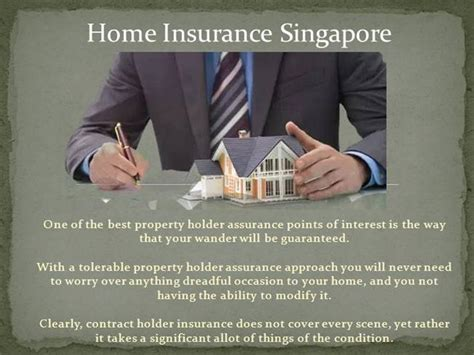 housing insurance singapore home insurance singapore comparison authorstream