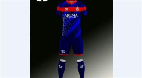 desain jersey arema arema indonesia siapkan tim dengan standar divisi utama