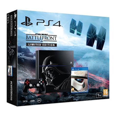 star wars battlefront deluxe edition ps4 with han solo 1tb star wars battlefront darth vader ps4 console limited