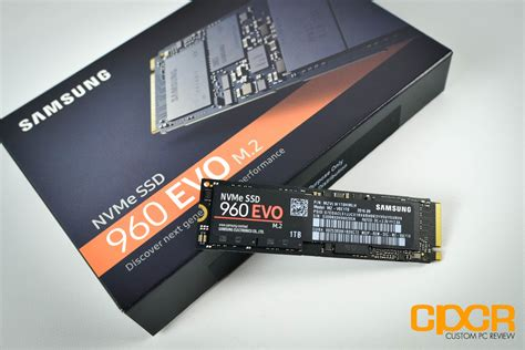 samsung 960 evo 1tb review nvme pcie ssd custom pc review