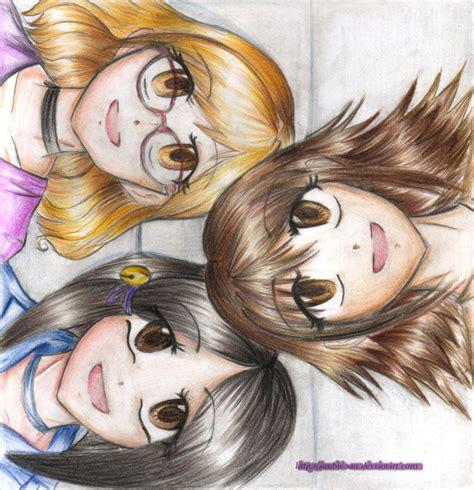 imagenes de anime kawaii de amigas kawaii friendship edit by anubis san on deviantart