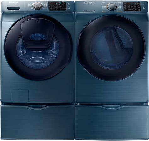 Samsung Washer Pedestal Blue Samsung Wf45k6200az 27 Inch 4 5 Cu Ft Front Load Washer
