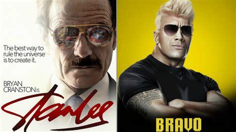 bryan cranston stan lee fake movie posters we wish were real including bryan