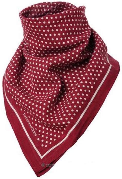 cafe racer motorcycle retro neck scarf bandana polka