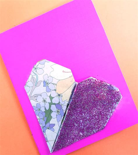 paper crafts for tweens origami card s day craft for tweens and