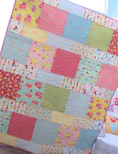 10 inch layer cake quilt patterns layer cake pattern for baby quilts the home any