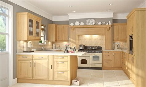 Country Style Kitchen Lighting Easily Elevate The Style Light Oak Kitchens