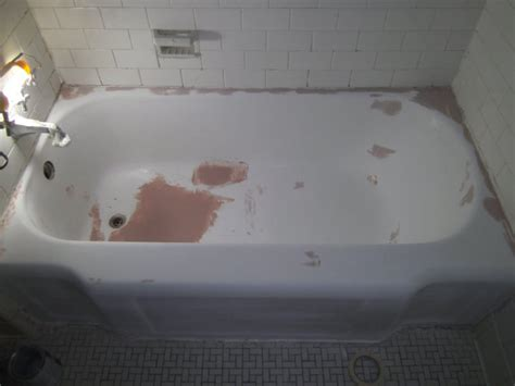 Resurfacing Bathtubs Bathtub Resurfacing And Refinishing Before And After Photos