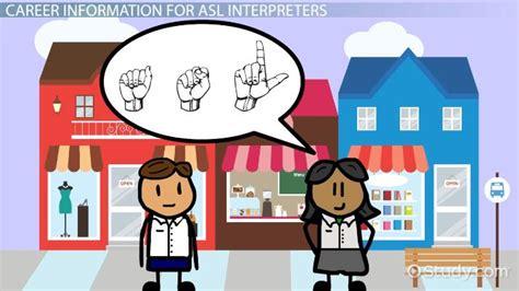 american sign language interpretation be an american sign language interpreter salary and