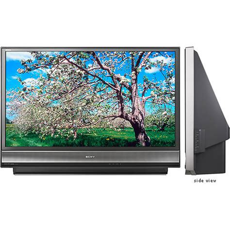 Projection L For Sony Tv by Sony Kdf 50e3000 50 Quot Bravia Hd Rear Projection Kdf 50e3000