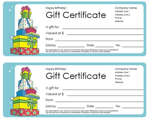 Get A Free Gift Certificate Template For Microsoft Office Microsoft Office Templates Certificate