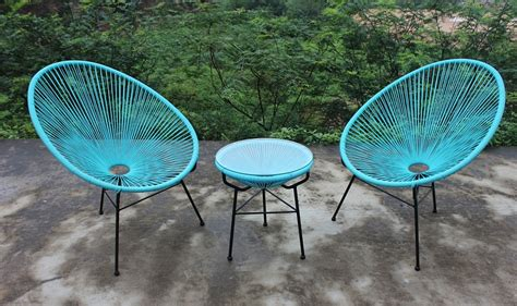 Mexican Patio Furniture Sets by The Iconic History Of The Acapulco Chair I Patio Productions