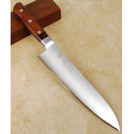 hand forged kitchen knife by bloodrootblades on etsy kohetsu as western gyuto 210mm home products pinterest