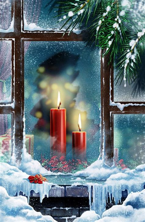 days until christmas christmas candles and window on pinterest