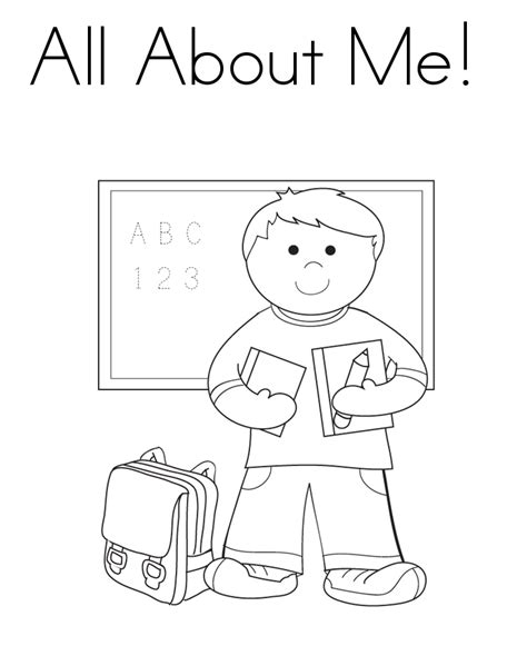 all about me coloring pages all about me coloring pages coloring home