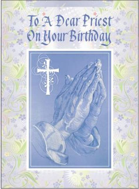 Birthday Cards For Catholic Priests Priest Birthday Cards Christian Greeting Cards