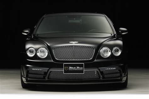 black bentley back wald releases new luxury kit for the bentley continental