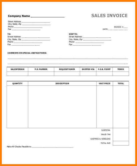 sle invoice template word 5 bill format in word sle travel bill