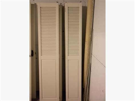 Half Louvered Bifold Closet Doors by Half Louvered White Bi Fold Closet Doors City