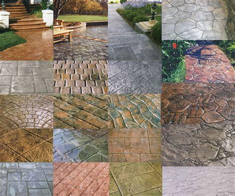 pattern concrete home design ideas sted concrete patterns the