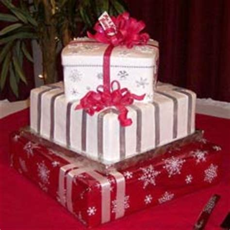 christmas gift box fondant cake gift box cake designs shaped like a present