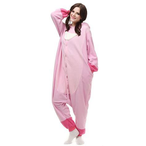 Jam Flanel Stitch Pink pink stitch kigurumi costume unisex fleece pajamas onesie cosplaymades