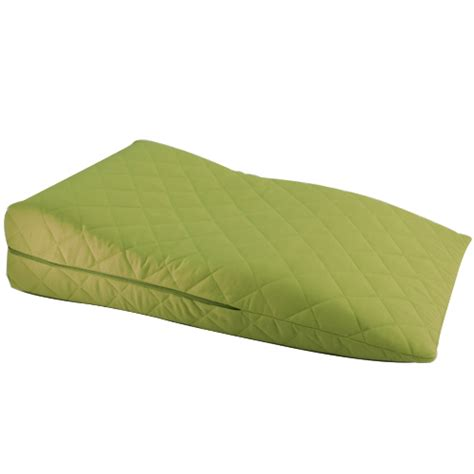 bed wedge pillow for legs lime orthopaedic contour leg raise pillow foot rest cotton