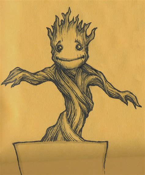 dancing baby groot by theopticnerve on deviantart