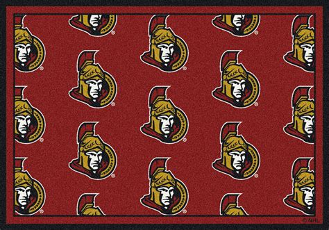Cheap Area Rugs Ottawa by Milliken Nhl Repeat 02012 Ottawa Senators Team Area Rug