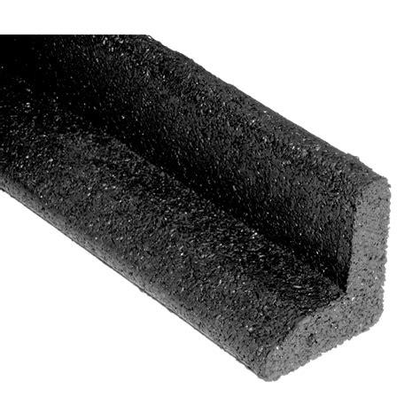 rubber section shop ecoborder 6 pack 4 ft black rubber landscape edging