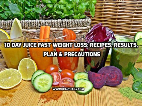 10 Day Juice Detox Weight Loss by 96 Juice Diet Plan The Program Listed Below Is A Guide