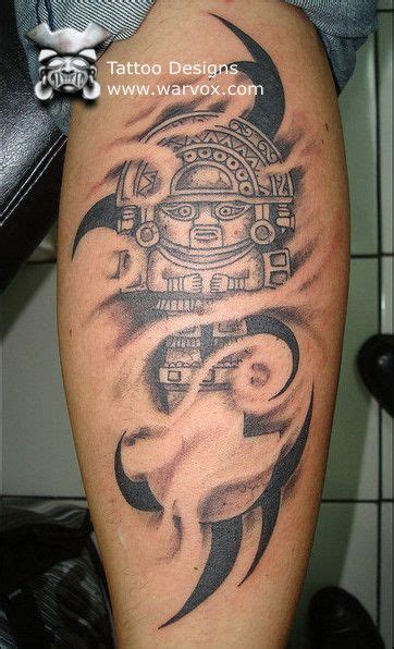 inca tribal tattoos tumi design 187 aztec tattoos aztec mayan inca