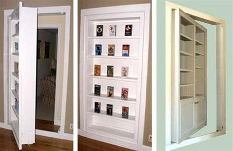 Space Saving Interior Doors With Shelves Offering Interior Doors For Small Spaces
