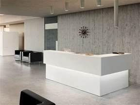 Modern Office Reception Desk L Shaped Reception Desk Design Ideas For Office And Company Minimalist Desk Design Ideas