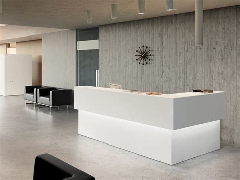 l shaped reception desk design ideas for office and