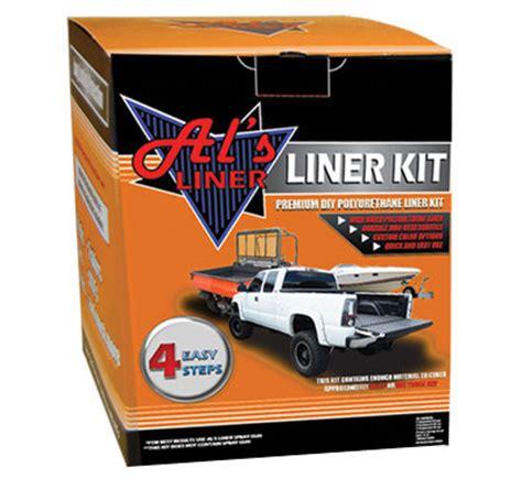 Truck Bed Liner Kit by About Al S Liner Diy Truck Bed Liner Kits