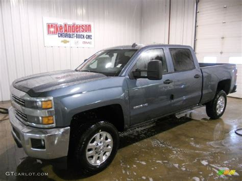 2015 silverado colors 2015 blue granite metallic chevrolet silverado 2500hd lt