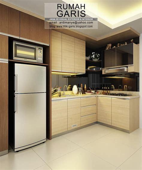 desain dapur letter l desain interior kitchen set letter l makassar