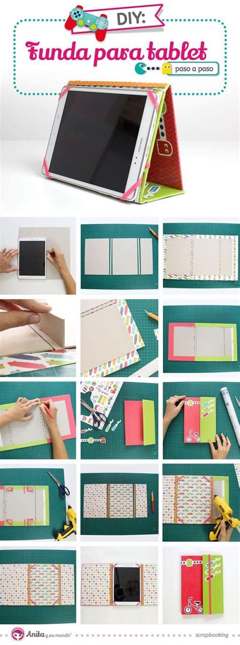 tutorial bìa scrapbook diy c 243 mo hacer una funda para tablet con papel scrap