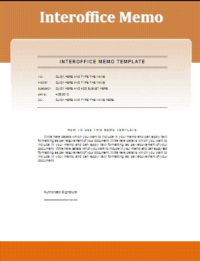 interoffice memo template free business templates