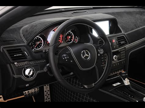 brabus mercedes benz   coupe dashboard