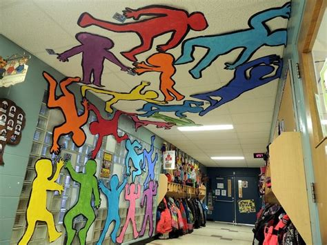 Wall Murals For Schools 152 best art project ideas collaborative projects images