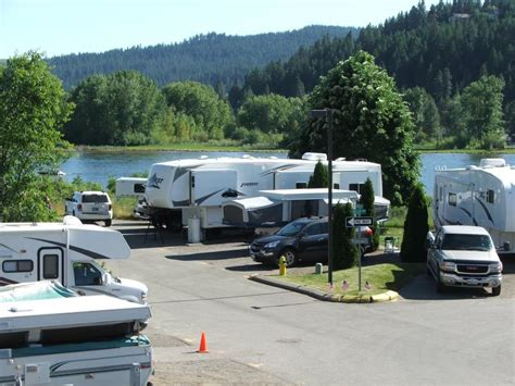 Coeur D Alene Resort Room Prices by River Walk Rv Park Site Map