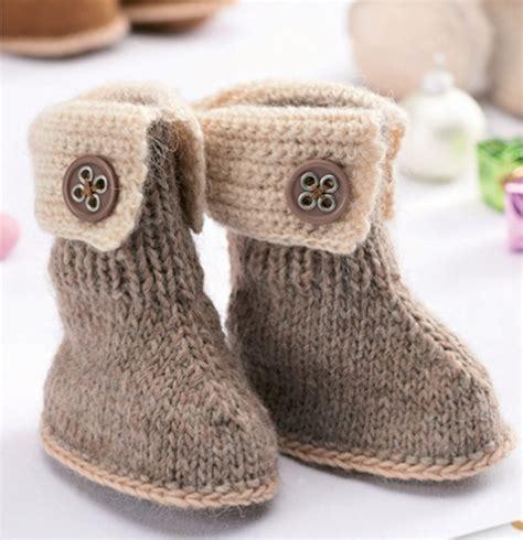 knitting booties for babies patterns free baby ugg booties knit pattern