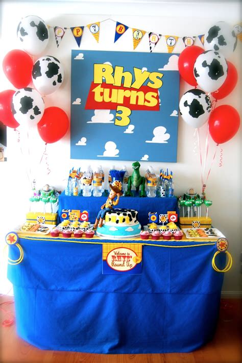 Toy Story Themes Party | lisa s busy little life toy story party